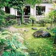 人吉旅館のお庭